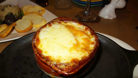 Jackie's on Corey Bistro & Catering: French Onion Soup