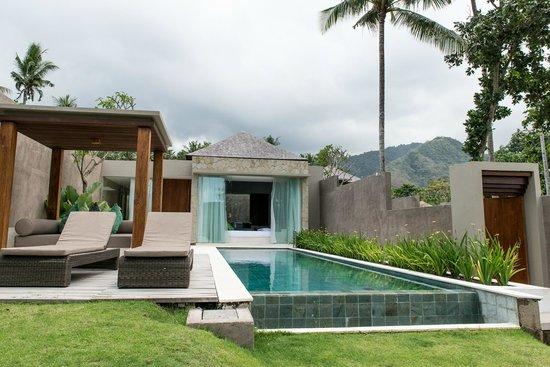 Candi Beach Resort & Spa : Ocean View Pool Villa