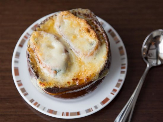 Paramour at Wayne Hotel: French Onion Soup