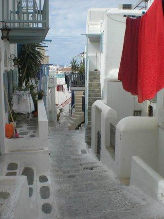 Street near Rania Apartments