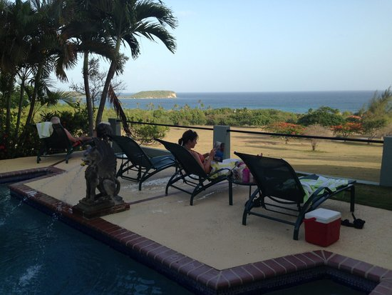 Hacienda Tamarindo: view from pool