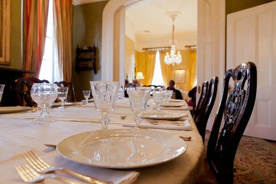 New Orleans Cooking Experience: dining room