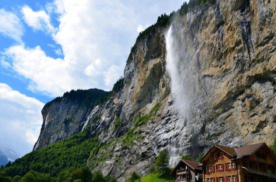 Steinbock: Staubbach Falls