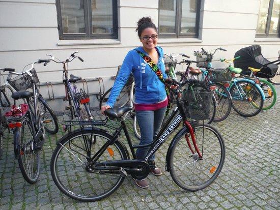 Hotel Kong Arthur: Jasmine's bike!