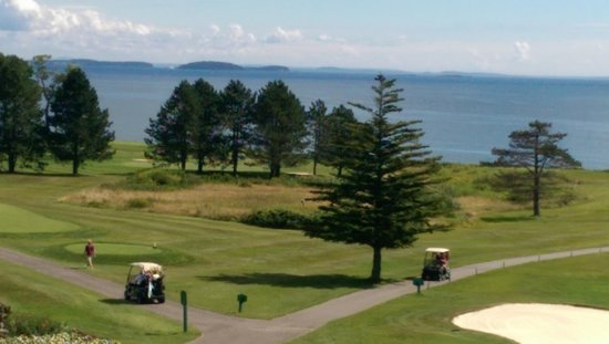 Samoset Resort On The Ocean: View from lobby