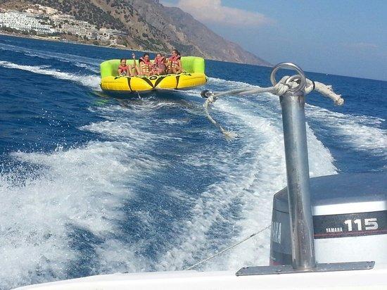 Akti Beach Club Hotel: Aqua fun...