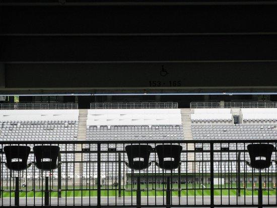 Allianz Arena : Vista degli spalti