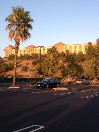 view of hotel from cvs parking lot picture of ayres. Black Bedroom Furniture Sets. Home Design Ideas