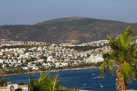 Doria Hotel Bodrum: view from room nr 2304