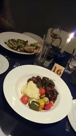 In Food Blu : Oxtail at casserole night at Blu so good!!! Every Tuesday!