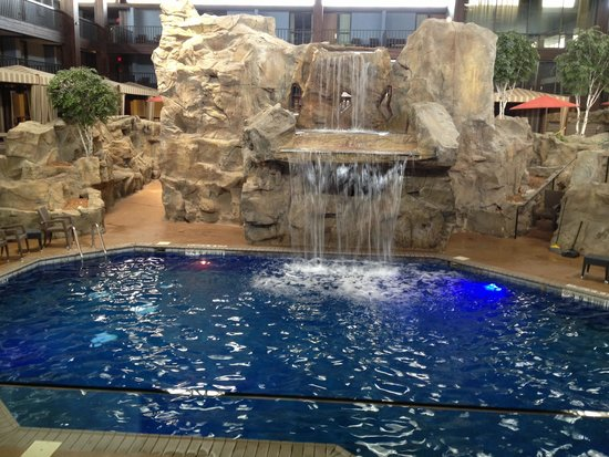 Radisson Hotel at Star Plaza: Indoor pool area
