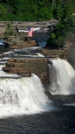 Ausable Chasm: I stopped on Rte. 9 for lunch one day & enjoyed this scene