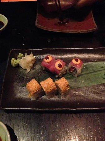 Sushisamba: sushi trial