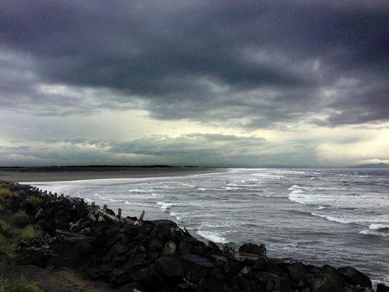 Clatsop Spit: A Stormy Vista