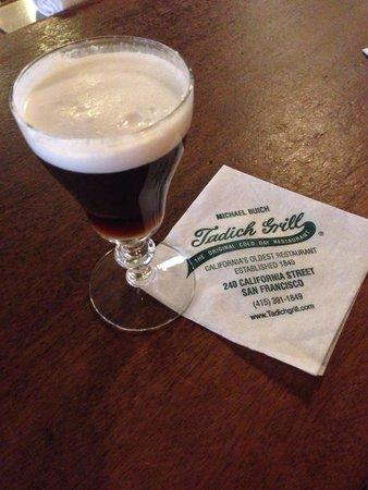Tadich Grill: Irish Coffee