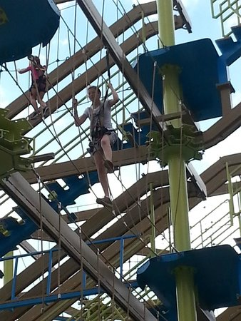 Great Wolf Lodge: Ropes course