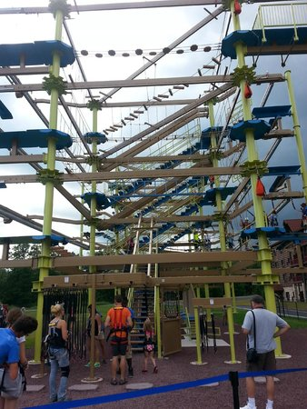 Great Wolf Lodge: New Ropes Course