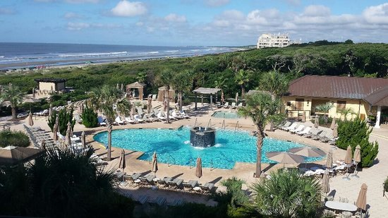 The Sanctuary Hotel At Kiawah Island Golf Resort Pool