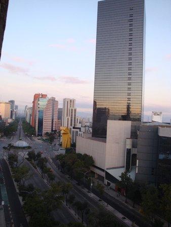Hotel Fontan Reforma: VISTA DESDE MI HABITACION