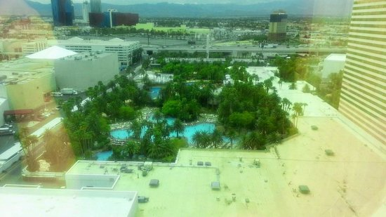 The Mirage Hotel & Casino: View from room