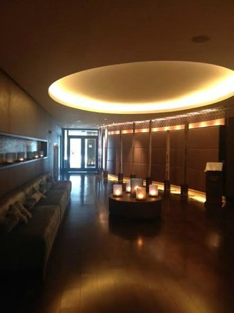 The Europe Hotel & Resort: ESPA entrance