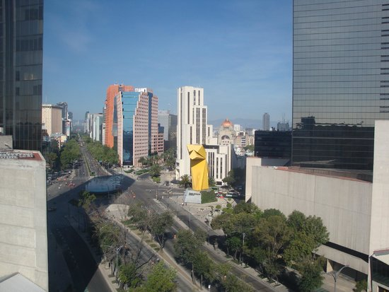 Vista desde mi habitacion picture of hotel fontan for Mi reforma