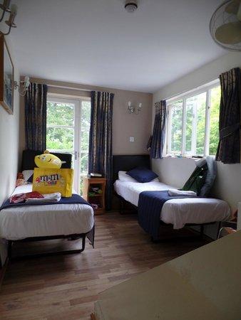Oxford Hotel London: Zimmer Erdgeschoß