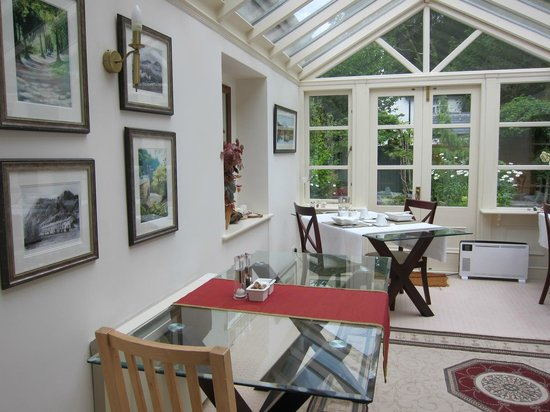 Afon Gwyn Country House: BREAKFAST ROOM