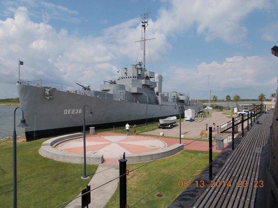 Seawolf Park: USS Stewart (DE-238)