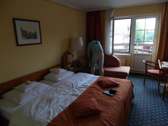Ringhotel Zum Stein: Room with balcony