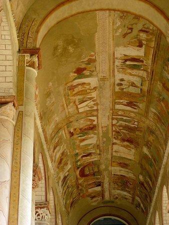 Church of Saint-Savin sur Gartempe: La volta della navata