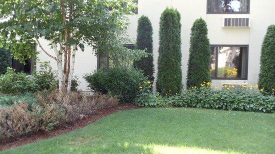 DoubleTree Hotel Boston/Bedford Glen: fantastic courtyard