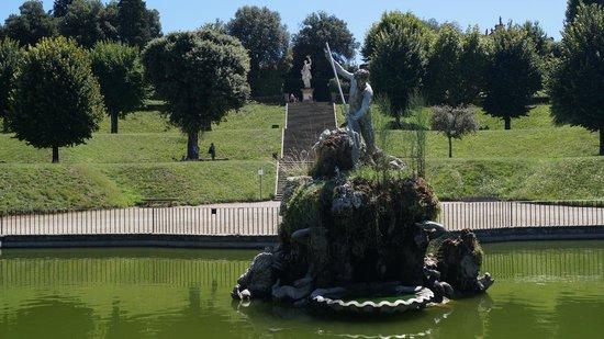 Boboli Gardens: fontaine du Neptune