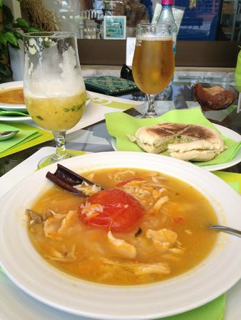 Funcho Gourmet : chicken soup