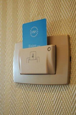 Hotel Nahuel Huapi: Luz eléctrica