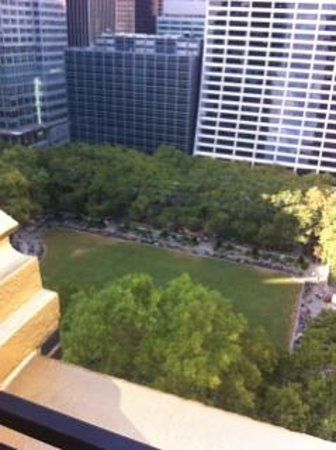 The Bryant Park Hotel : View from our terrace on the 19th floor