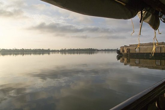 Alleppey Backwaters : Lever du soleil
