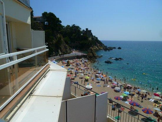 Hotel Rosamar Maxim - Adults Only : vue du balcon