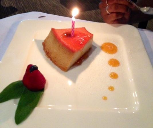 Agora Churrascaria: Birthday Flan