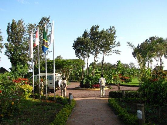 Neptune Ngorongoro Luxury Lodge : Exploreans upon arrival