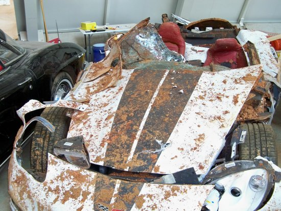 National Corvette Museum : And then there was that darn sinkhole!