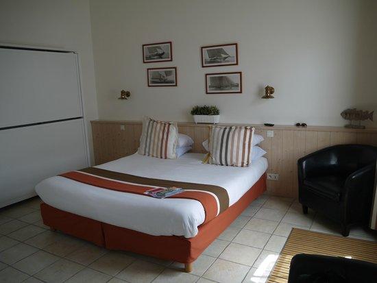 Hotel La Galiote : chambre