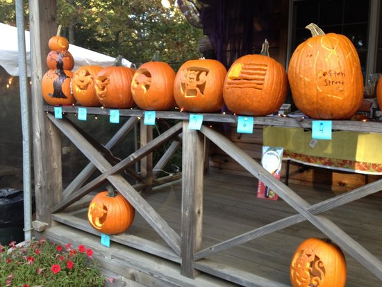 Sweetwater Forest Campground : Pumpkin carving contest 2013