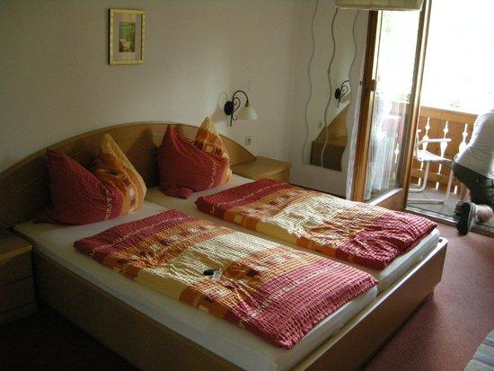 Pension Quellenhof-Peter: Our beds