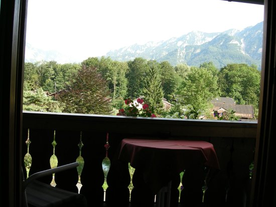 Pension Quellenhof-Peter: View of the balcony/view from the room