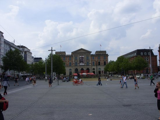 Ubersee-Museum : Außenansicht