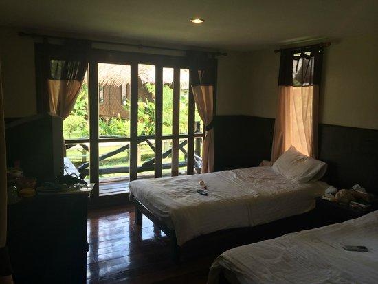 Mook Lanta Resort: Lovely aircon cabin