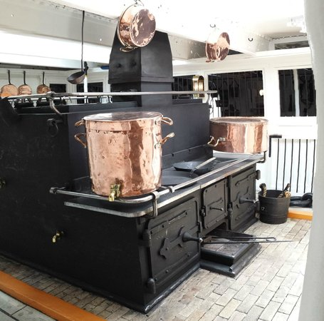 HMS Warrior 1860 : Part of the galley