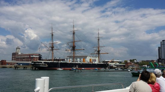 HMS Warrior 1860 : HMS Warrior for Harbour Tour boat
