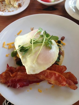 Los Poblanos Historic Inn & Organic Farm : Another delicious included breakfast